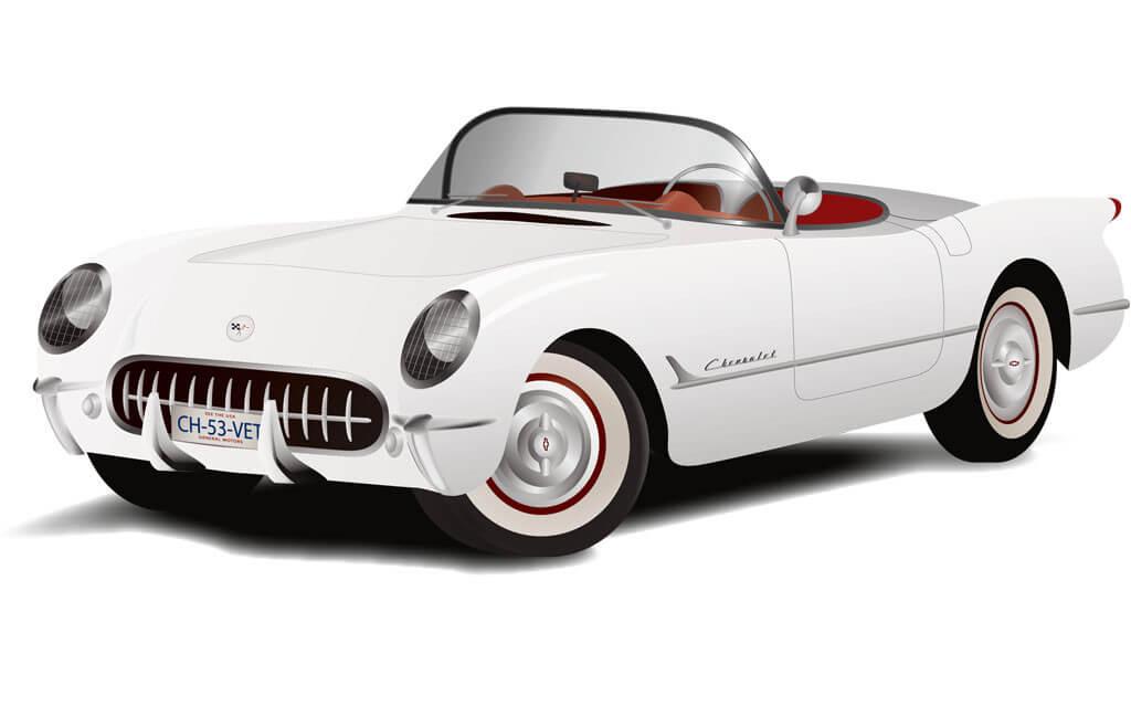 53_corvette_1953_art